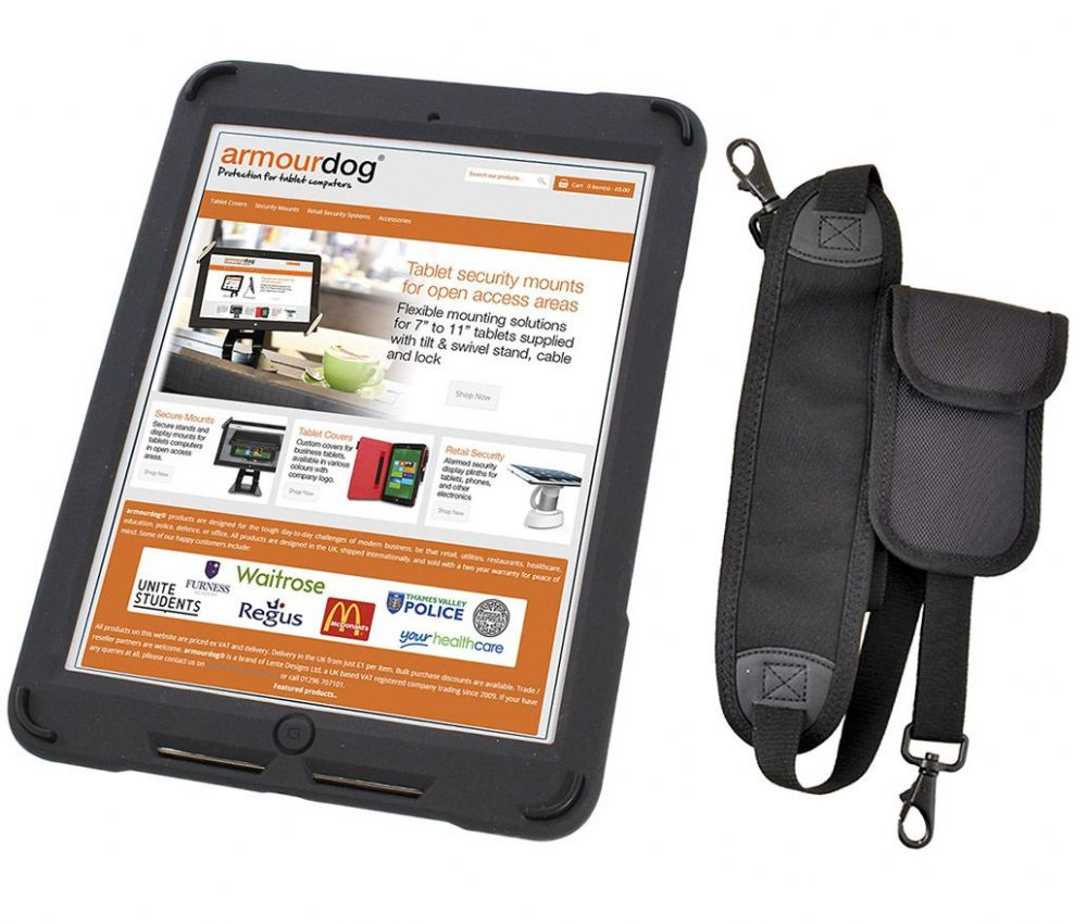 Armourdog Rugged Case For The Ipad 2018 2017 Pro 9 7 Air And 2 With Hand Shoulder Strap